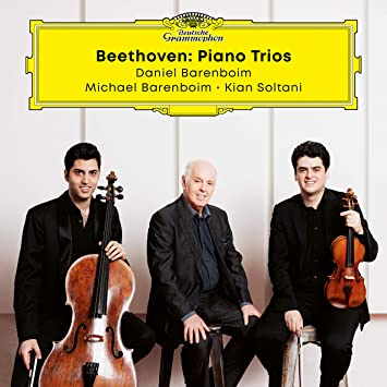 Reseña CD: Beethoven, Tríos con piano. D.Barenboim, M.Barenboim y K.Soltani.