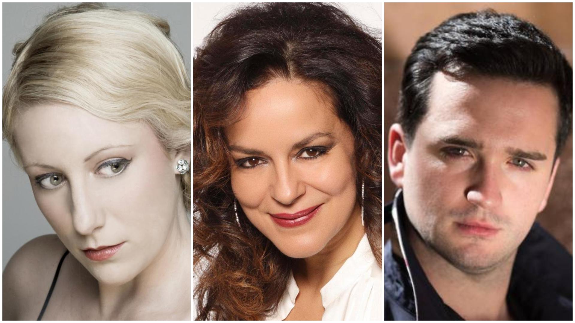 Saioa Hernández, Nancy Fabiola Herrera y Xabier Anduaga en la 54º temporada de la Ópera de Las Palmas