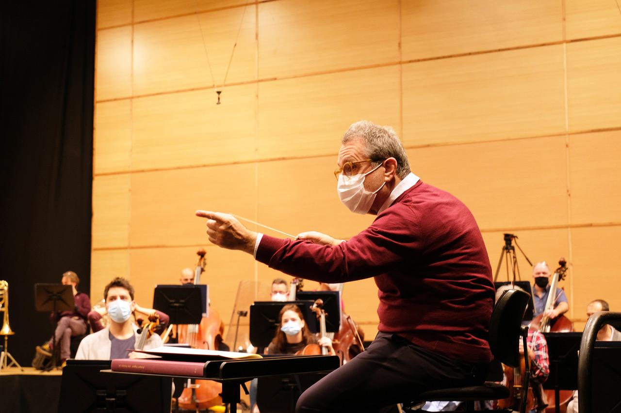 La Sinfónica de Galicia combate el confinamiento con streaming
