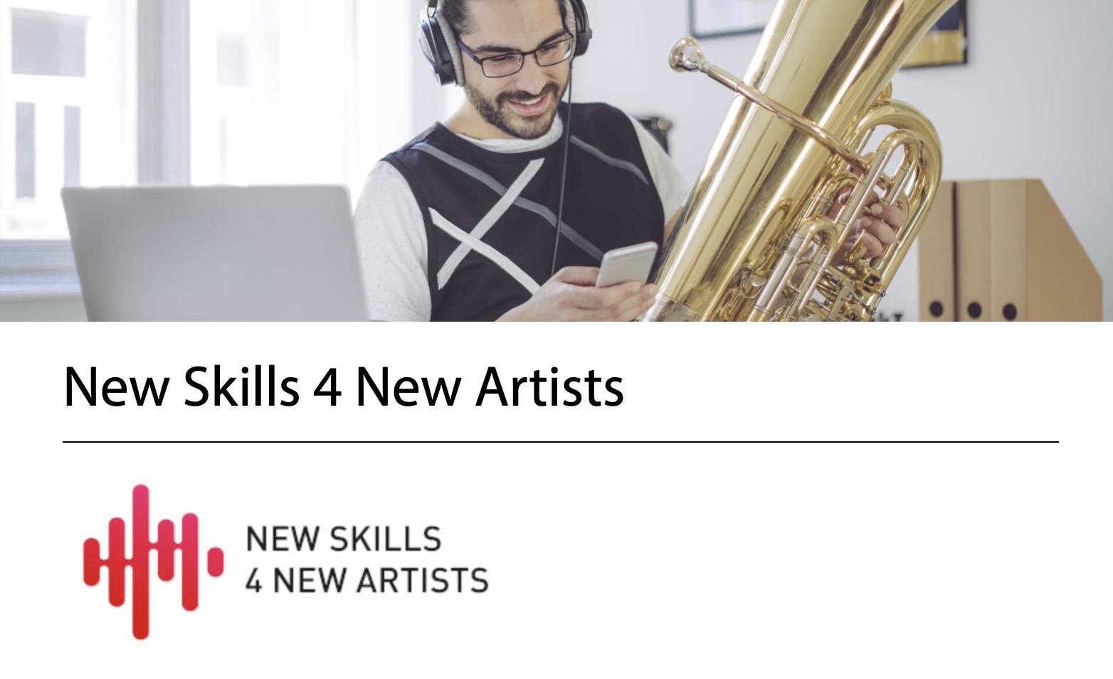 New Skills 4 New Artists, nuevo programa educativo europeo de la Escuela Superior de Música Reina Sofía