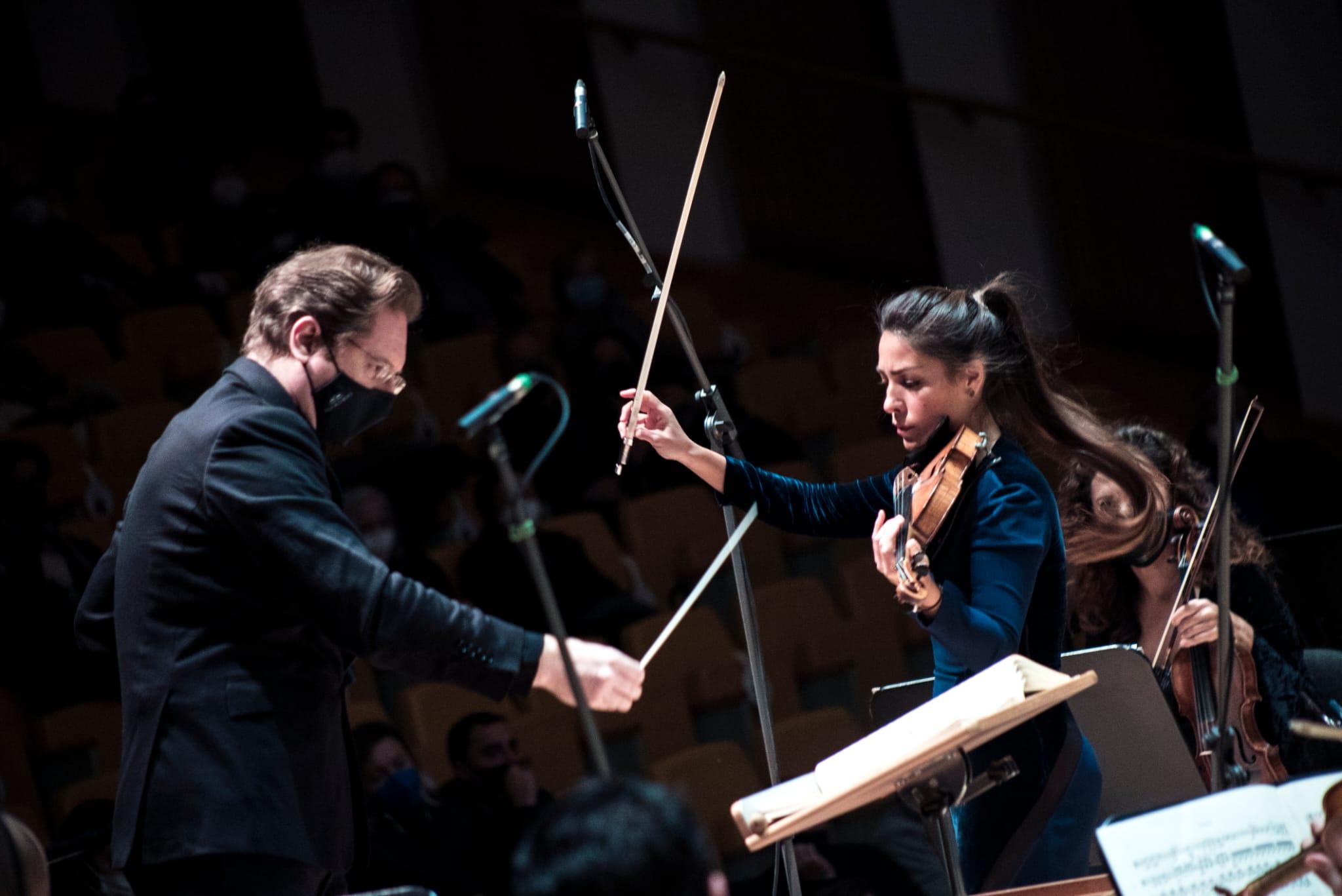 Crítica: Leticia Moreno y Ramón Tebar con la Orquesta de València. Sorpresas