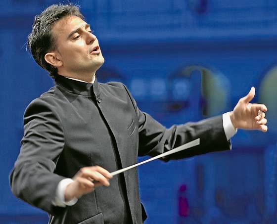 José Trigueros sustituye a Roman Simovic con la Orquesta de RTVE