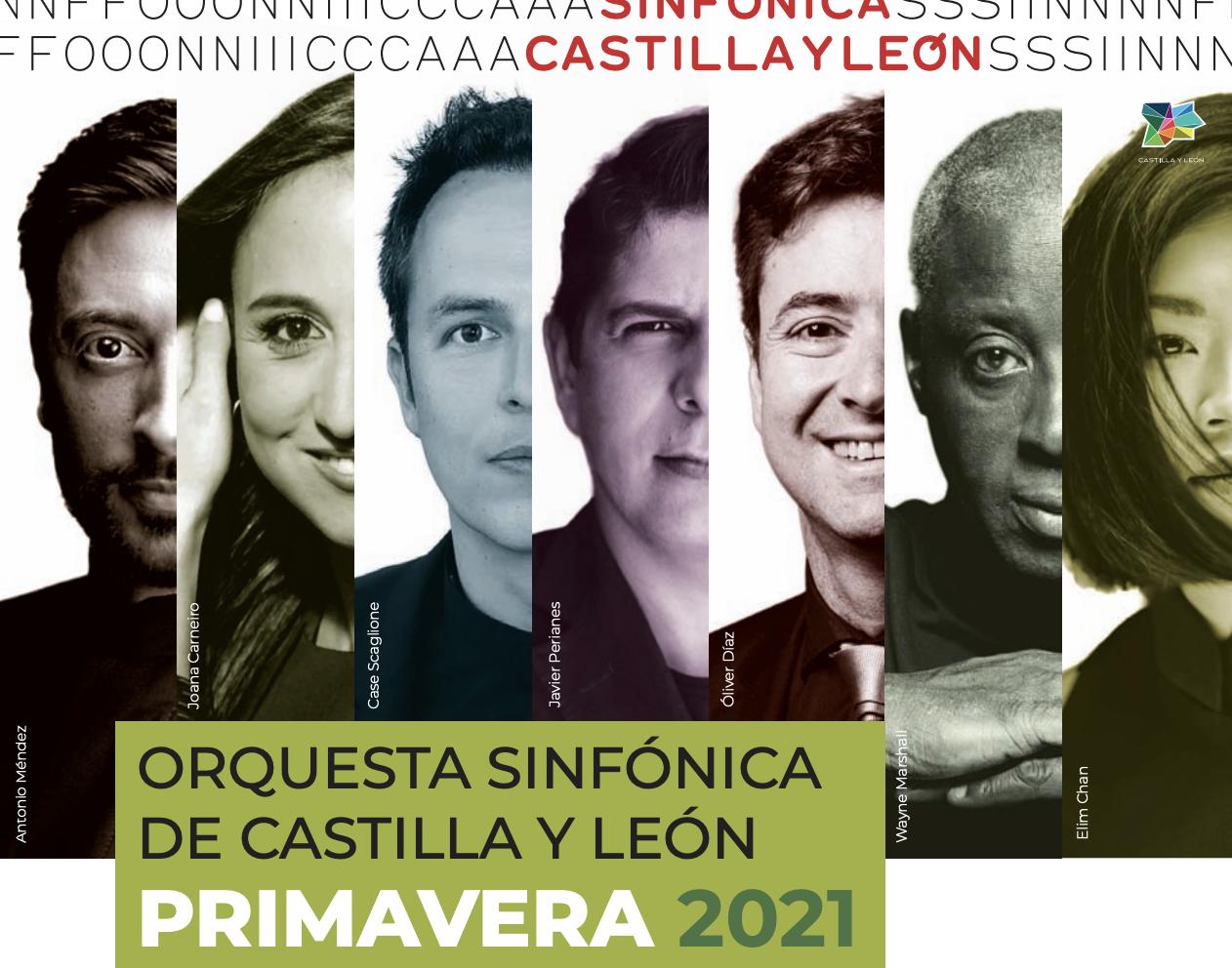 La Orquesta Sinfónica de Castilla y León presenta la programación del bloque de primavera