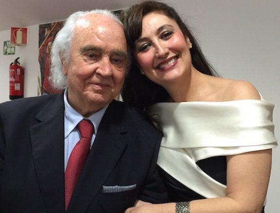 María José Montiel: Antón García Abril, la música del corazón