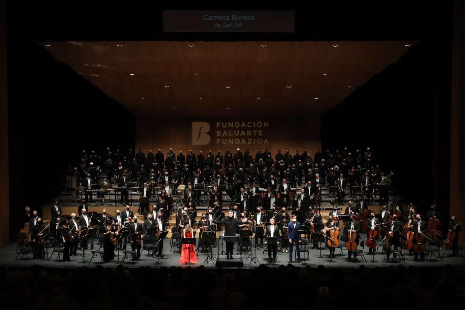Crítica: Brillante Carmina Burana en Pamplona
