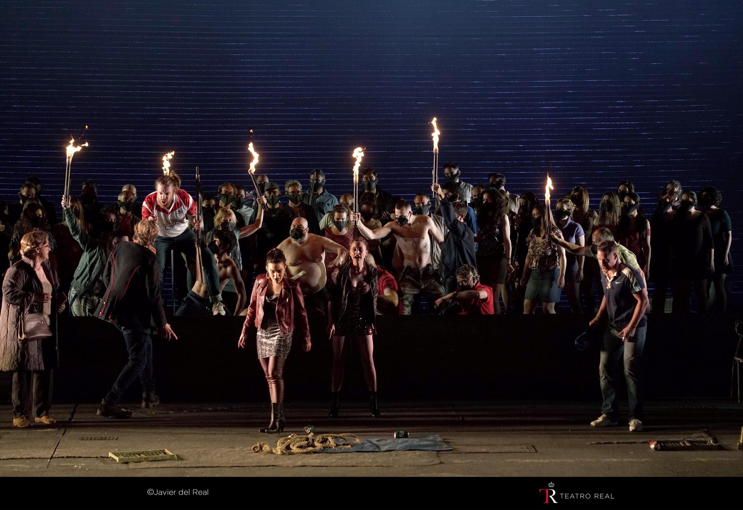 Críticas en la prensa a Peter Grimes en el Teatro Real