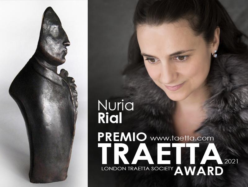 Nuria Rial, Premio Traetta 2021