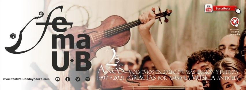 El Festival de Música Antigua de Úbeda y Baeza avanza su 25º temporada