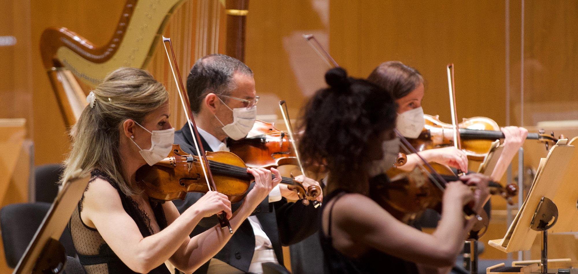 La Orquesta Nacional convoca 9 plaza de profesor tutti