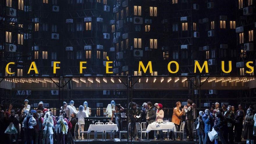 Crítica: La Bohème en el Liceu. Miseria y esperanzas en los suburbios
