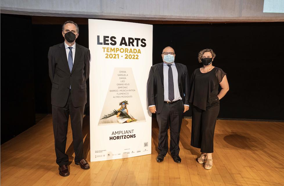 Les Arts propone un viaje por ocho siglos de música en su Temporada 2021-2022