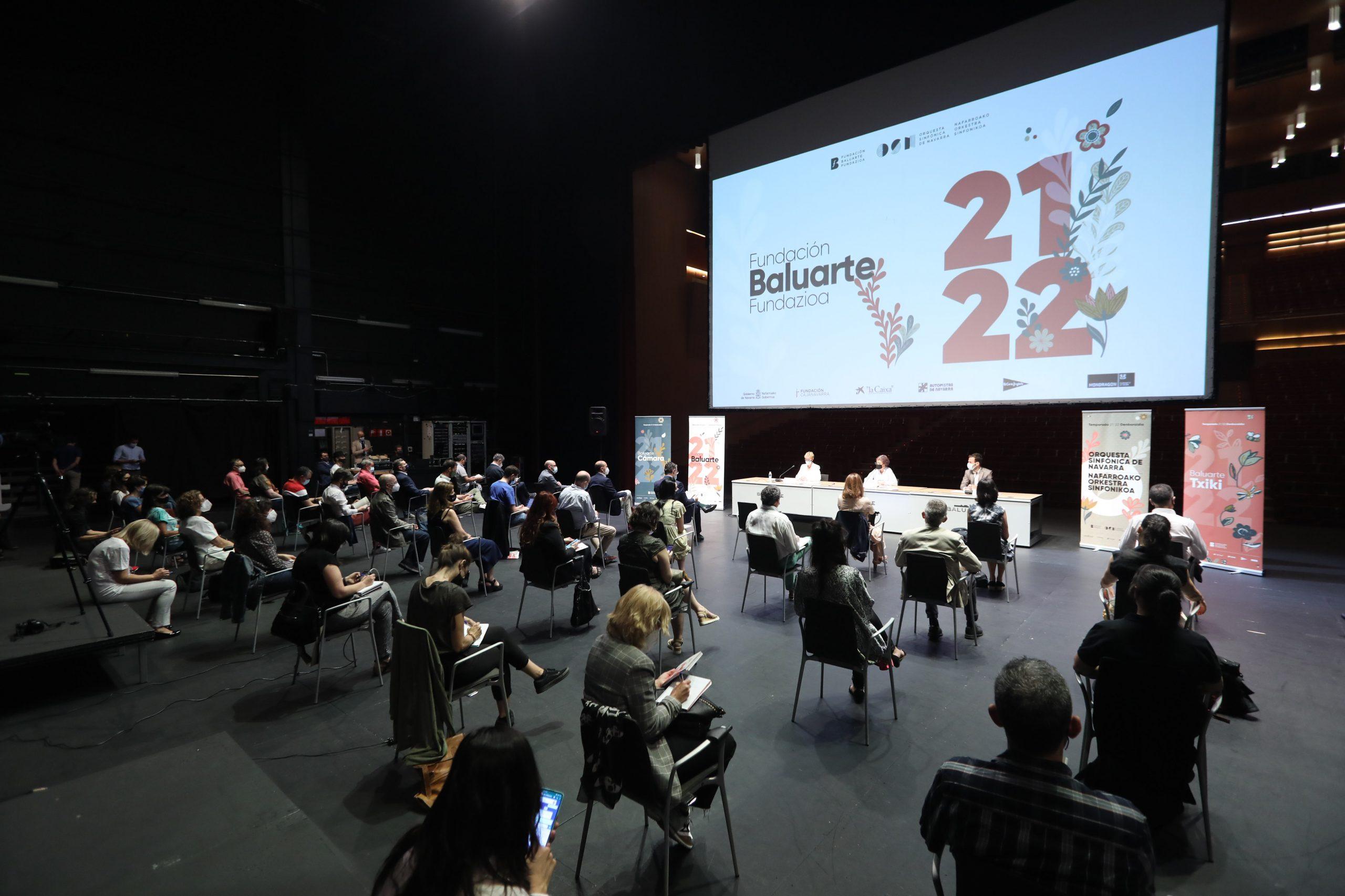 La Fundación Baluarte y la Orquesta Sinfónica de Navarra presentan su temporada 21/22