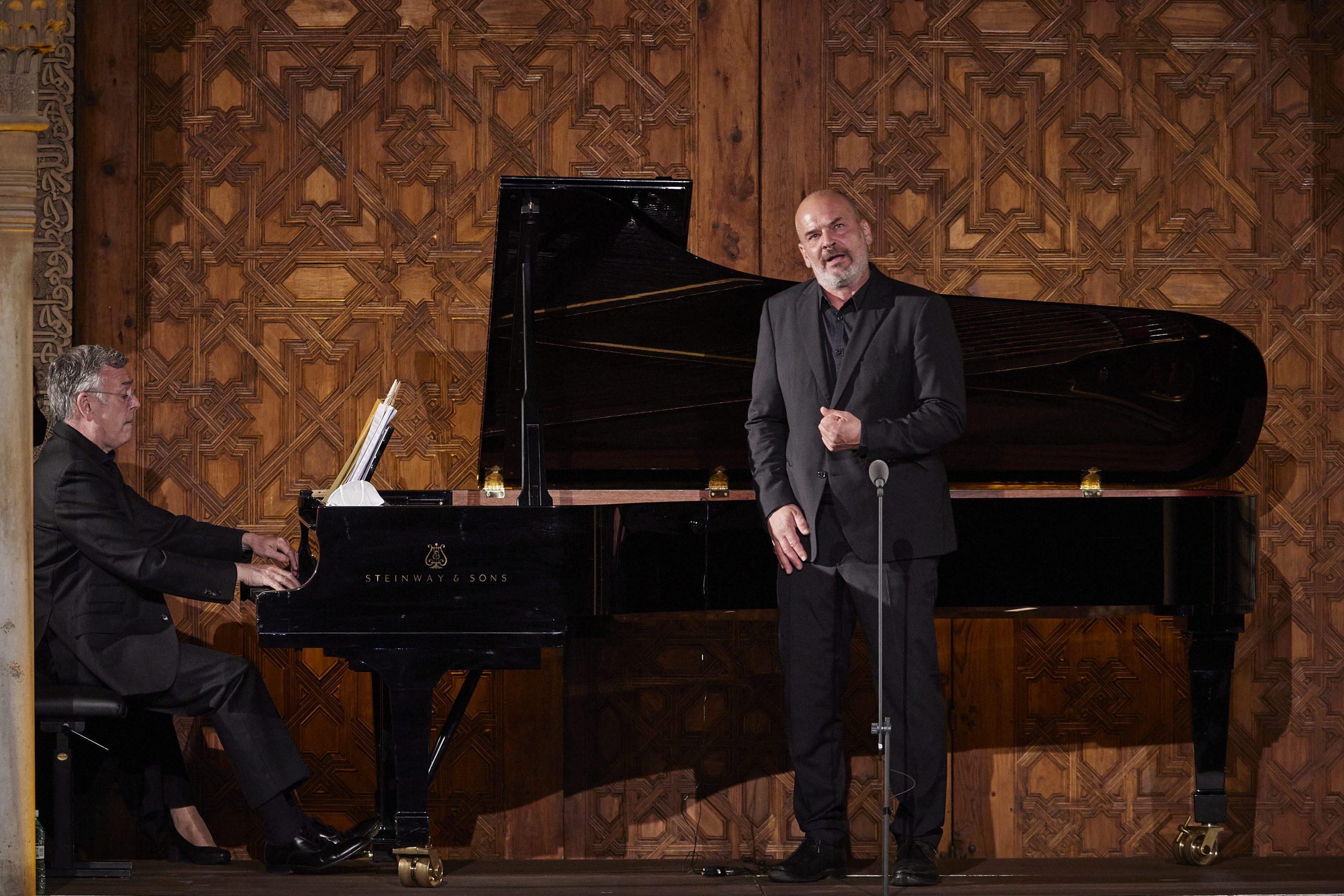Crítica: Florian Boesch en el 70º Festival de Granada. Noche transparente y silenciosa