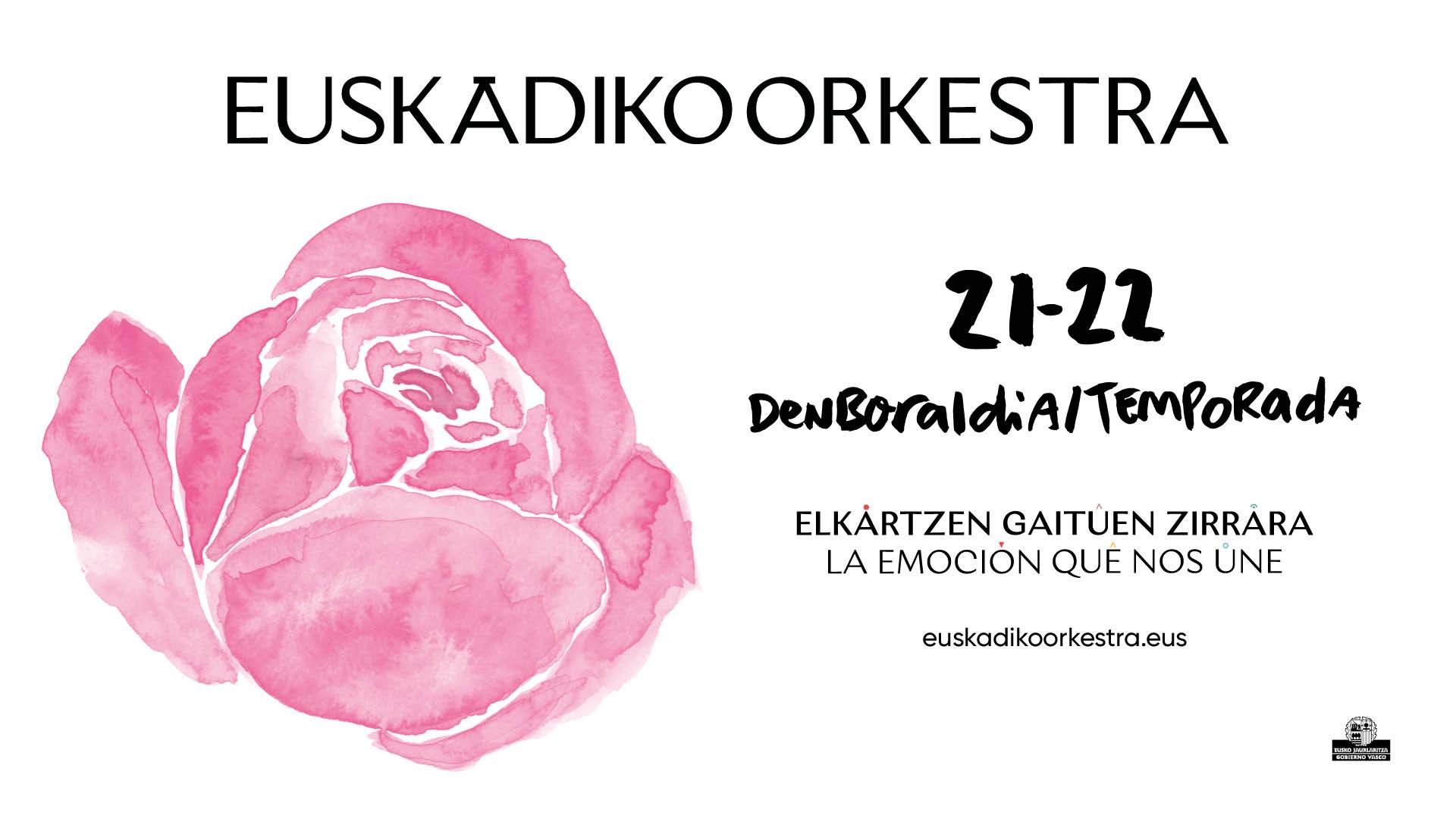 La Euskadiko Orkestra presenta su temporada 21/22