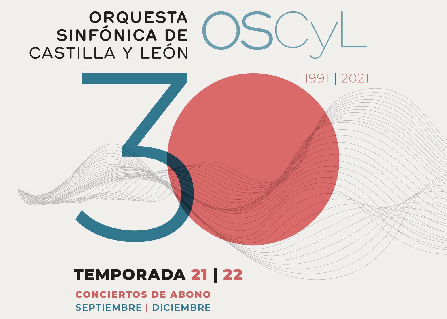 La Orquesta Sinfónica de Castilla y León presenta un abono de otoño con los que celebra su 30º aniversario