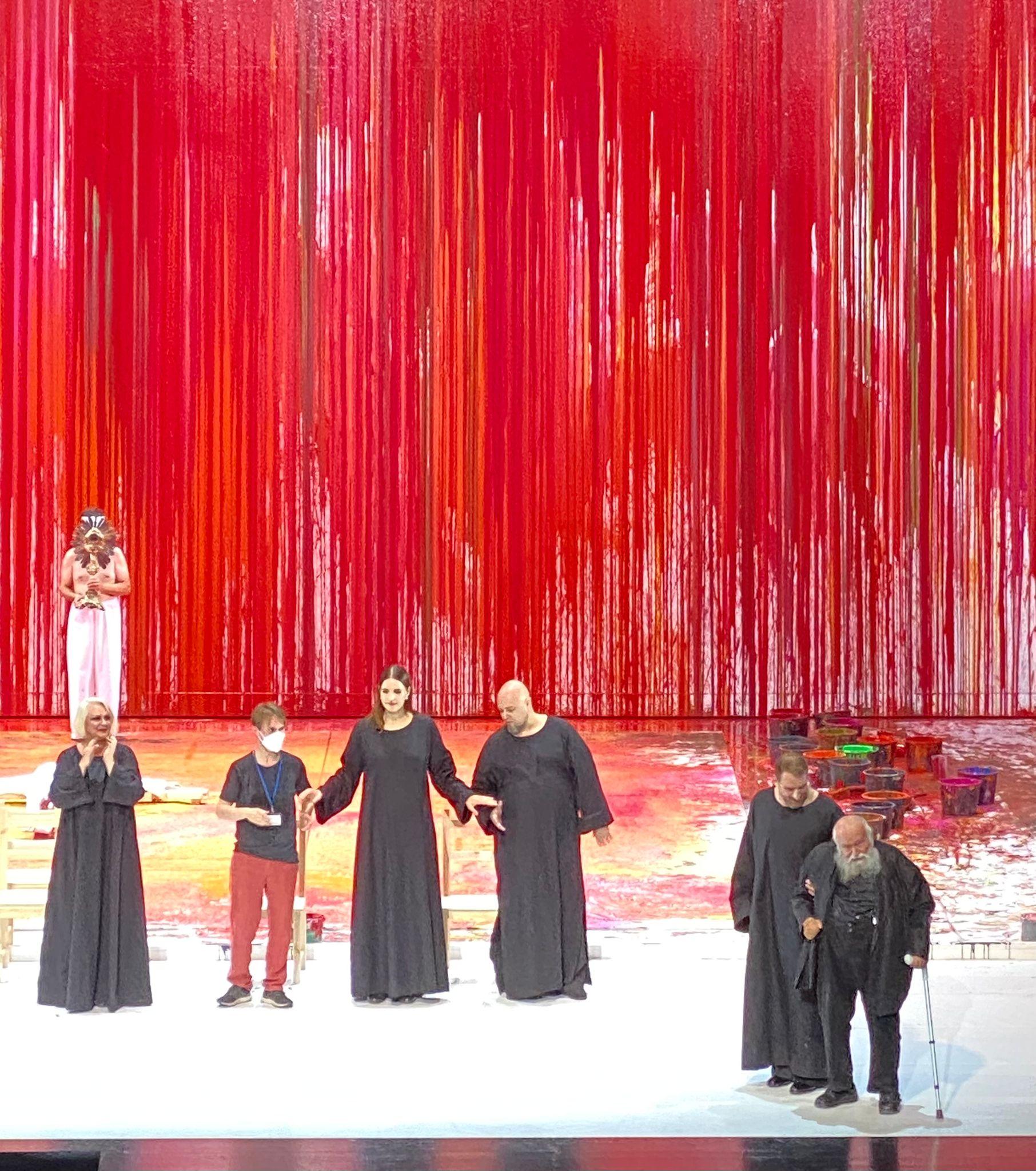 """Bayreuth: """"La Valkiria"""" con sangre entra"""