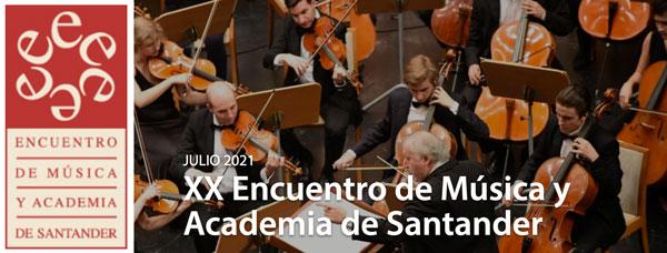 Santander y Pedreña, escenarios del XX Encuentro de Música y Academia
