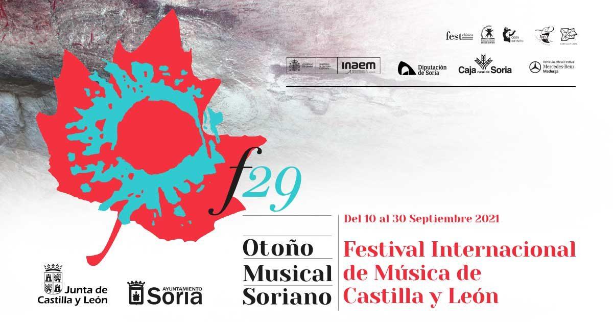 El Otoño Musical Soriano presenta su 29º edición
