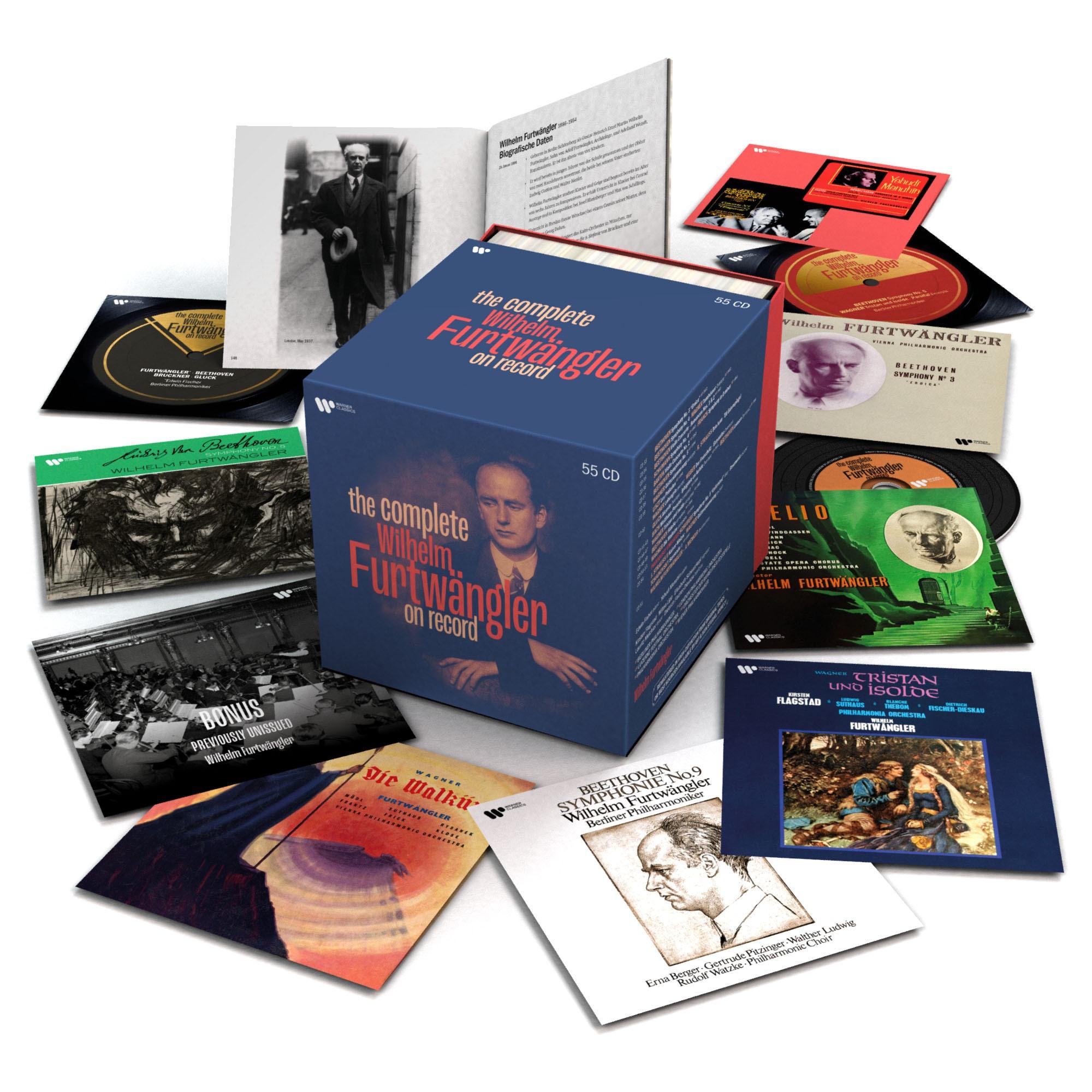 Warner Classics lanza una colección con todas las grabaciones de Wilhelm Furtwängler