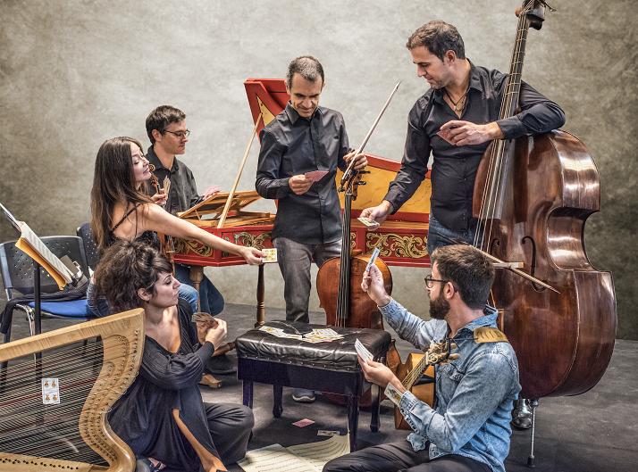Lina Tur Bonet inicia su doble residencia artística en el CNDM junto a su formación Musica Alchemica