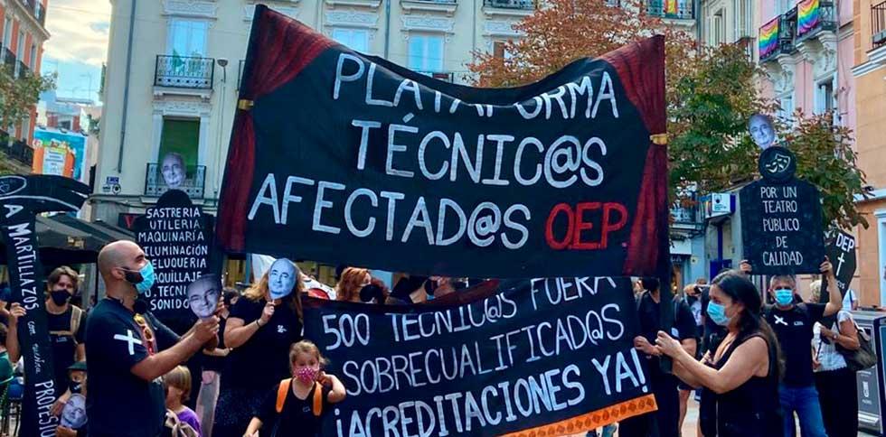 manifestacion-tecnicos-teatros-nacionales