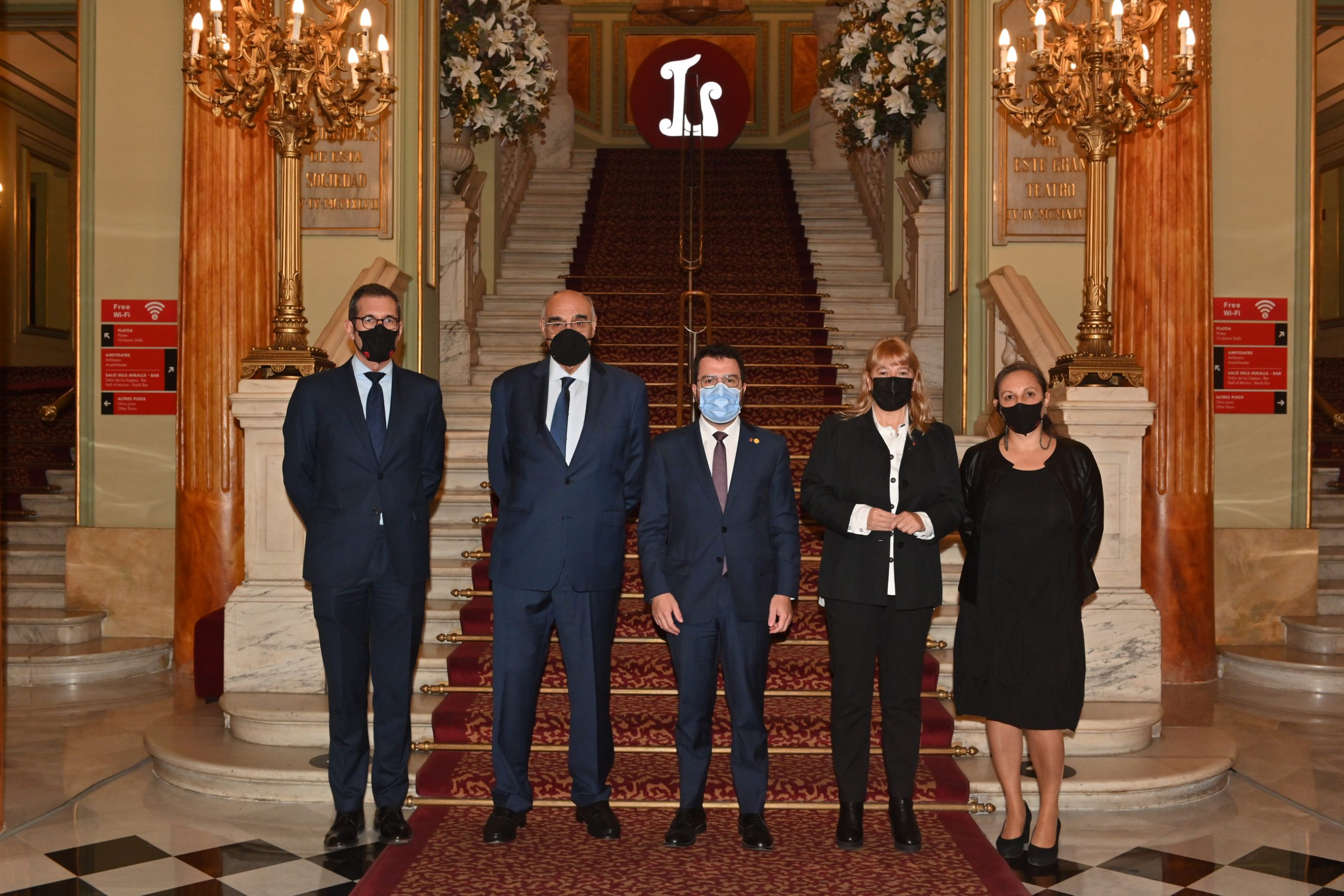 Salvador Alemany renueva como presidente de la Fundación del Gran Teatre del Liceu